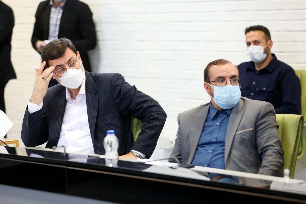بازدید دکتر قالیباف و علی حدادی از شهرک دارویی برکت و کارخانه تولید واکسن ستاد اجرایی فرمان امام (ره)