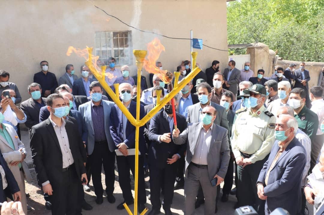 با پیگیریهای علی حدادی، پروژه های گاز رسانی شهرستان طالقان  کلانک وسنگبن ،آرموت و تکیه آرموت ،شهرک فرهنگیان افتتاح شد