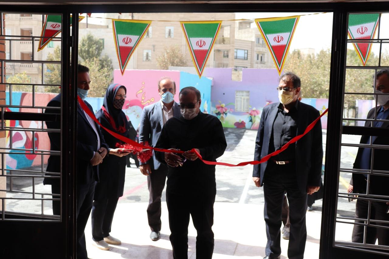 افتتاح مدرسه 21 کلاسه خوارزمی شهرک بعثت شهر هشتگرد